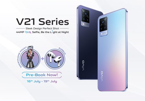 PRE ORDER NOW: VIVO V21 SMARTPHONE THAT REDEFINES THE PERFECT NIGHT SELFIE EXPERIENCE