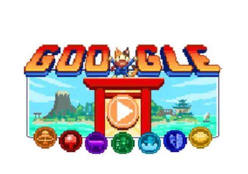 टोकियो ओलम्पिकको सम्मानमा गुगल डुडल तयार, खेल्ने होईन् त एनिमेटेड डुडल गेम ?