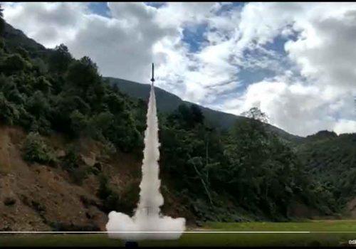 नेपाली विद्यार्थीले बनाएको 'क्वान्टम' रकेटको परीक्षण सफल