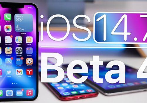 एप्पलद्वारा आईओएस तथा आईप्याडओएस १४.७ को बिटा ४ सार्वजनिक