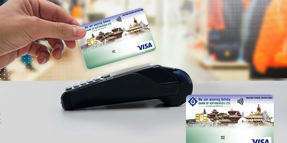 बैंक अफ काठमाण्डूका कार्डबाहकहरुले २० प्रतिशतसम्म छुट पाउने