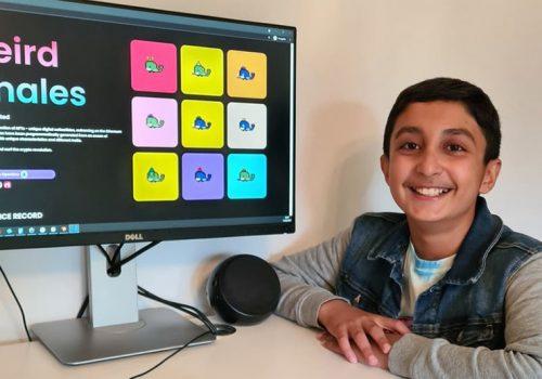 १२ वर्षका बालकले कमाए एनएफटीमार्फत् ४७ करोड रुपैयाँ, क्रिप्टोकरेन्सीमा सञ्चय गर्ने