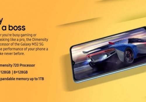 डाइमेन्सिटी ७२० चिपसेटसहित सामसङ ग्यालेक्सी एम३२ फाइभजी स्मार्टफोनको घोषणा