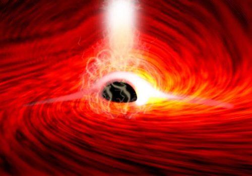 आइन्स्टाइनको सिद्धान्त सही साबित, वैज्ञानिकहरुले पत्ता लगाए ब्ल्याक होलको पछाडिबाट बाहिरिने प्रकाश