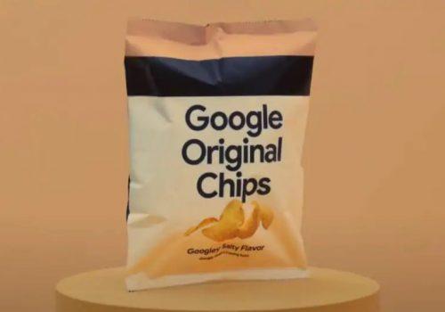 आलु चिप्स बेच्दै गुगल, प्याकेटमा उपभोक्ताले आफ्नो नाम पनि लेखाउन सक्ने