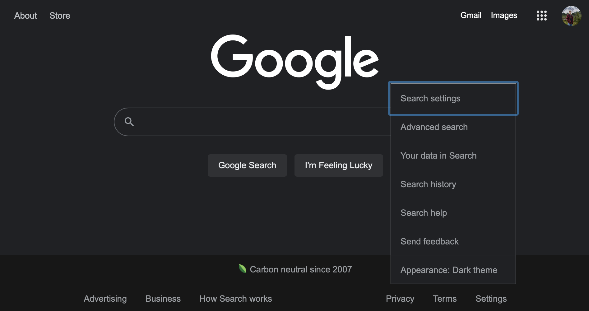 गुगल सर्चमा अब आधिकारीकरुपमा डार्क मोड उपलब्ध
