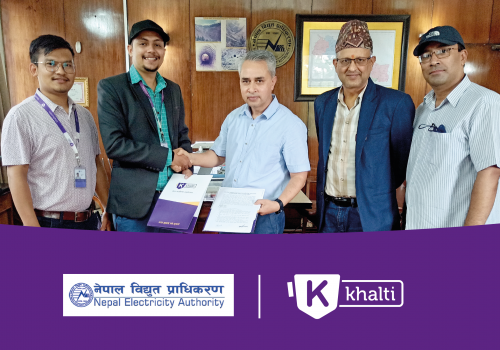 Electricity bill now payable from Khalti Digital Wallet
