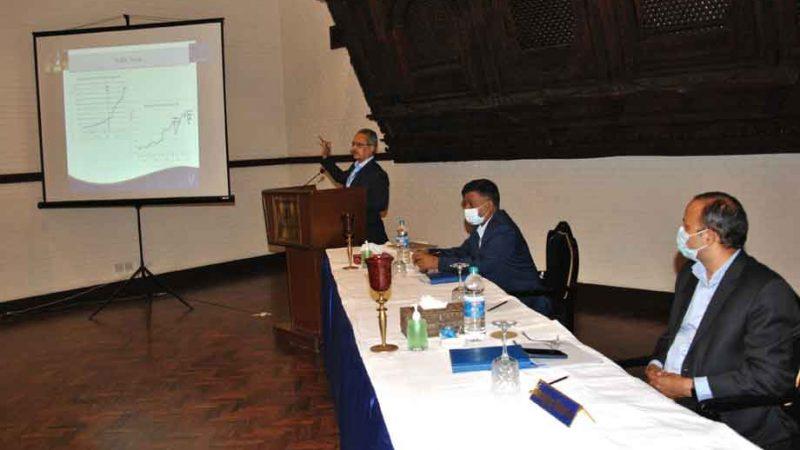 नेपाल टेलिकमद्धारा वार्षिक नीति तथा कार्यक्रम बारे जानकारी दिन आयोजित पत्रकार सम्मेलन