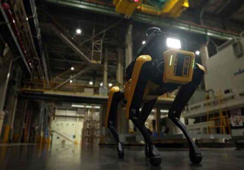 बोस्टन डायनामिकको 'स्पट' रोबोट हुण्डाईको फ्याक्ट्रीमा सुरक्षा निरीक्षक