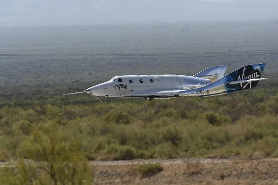 भर्जिन ग्यालेक्टिकको स्पेसशिप२ एफएएद्वारा 'ग्राउन्डेड', परीक्षण उडानको अनुसन्धान जारी