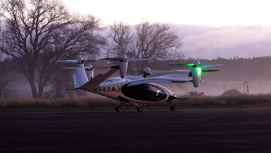 नासाद्वारा जोबीको हवाई ट्याक्सीको परीक्षण शुरु