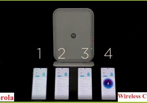 मोटोरोलाले ३एनएम प्रविधियुक्त वायरलेस चार्जर ल्याउँदै, एकै पटक ४ फोन चार्ज गर्न सक्ने