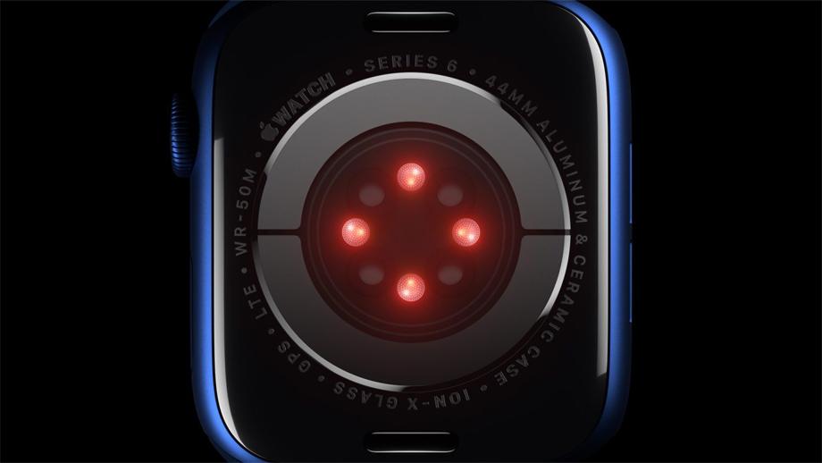 एप्पल वाच सिरिज ८ मा शरीरको तापक्रम नाप्ने सेन्सर रहने