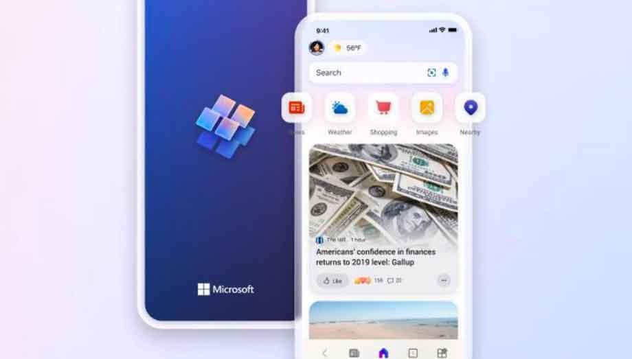 माइक्रोसफ्ट पीसी, मोबाइल फोनमा निजीकृत समाचारको लागी स्टार्ट एप सार्वजनिक